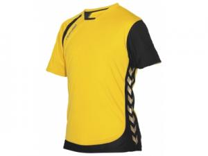 110104-4800 Tech Gold shirt Unisex geel
