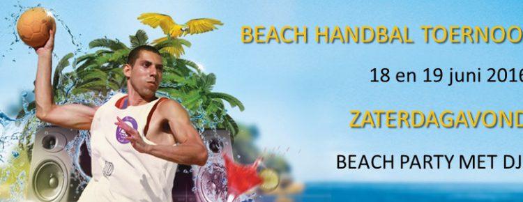 Beachhandbaltoernooi 2016