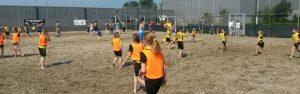 Beach scholentoernooi