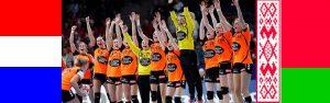 Oranjedames openen kwalificatiereeks EK 2018 in Eindhoven @ Indoor Sportcentrum Eindhoven