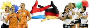 Dames oefeninterland Nederland - Duitsland @ MartiniPlaza