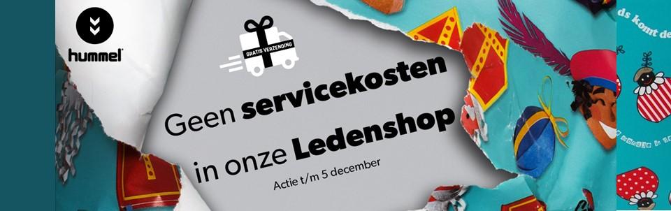 Sinterklaasactie: Geen servicekosten in de Ledenshop!