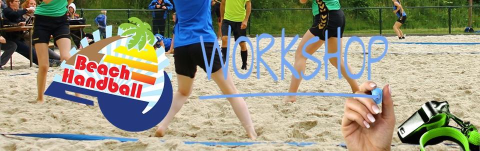 Workshop Beachhandbal