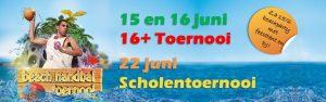 Beachhandbal 16+ toernooi @ Beachveld naast sporthal de Hoepel