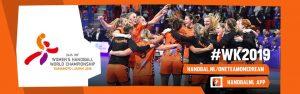 WK handbal dames: Nederland - Noorwegen