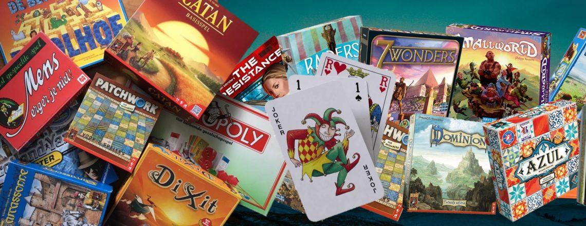 Bord- en kaartspellen gezocht