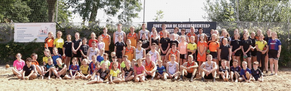 Supergave beachhandbal clinic