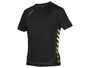110104-8800 Tech Gold Shirt Unisex zwart