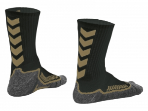 140102-8160 Chevron socks zwart