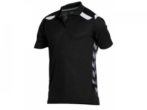 163110-8200 Stockholm Polo Unisex zwart