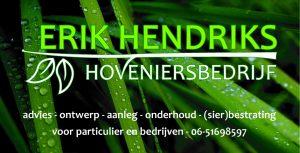 Erik Hendriks bord