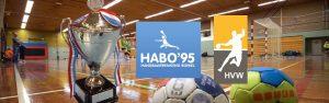 Bekerwedstrijd HVW DA1 - Habo'95 @ Sporthal de Hoepel | Wanroij | Noord-Brabant | Nederland