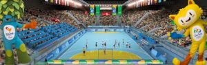 Olympische Spelen handbal heren @ Future arena | Rio de Janeiro | State of Rio de Janeiro | Brazilië