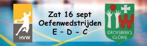 Oefenwedstrijden E - D - C - jeugd @ Sporthal de Hoepel | Wanroij | Noord-Brabant | Nederland