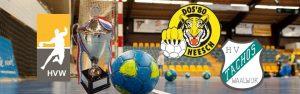 Bekerwedstrijd HVW DA1 - Tachos DA1 @ Sporthal de Hoepel | Wanroij | Noord-Brabant | Nederland
