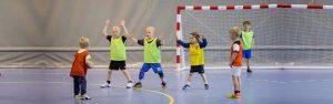 Handbal clinic voor de jeugd