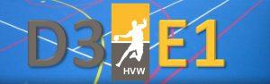 Oefenwedstrijd HVW D3 - HVW E1 @ Sporthal de Hoepel