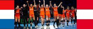 EK Kwalificatie dames: Nederland - Oostenrijk @ Indoor Sportcentrum Eindhoven