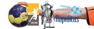 1e ronde landelijke beker: HVW HS1 - Rapiditas HS1 @ Sporthal de Hoepel