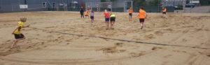 Beachhandbal voor de basisschooljeugd van Wanroij en Landhorst